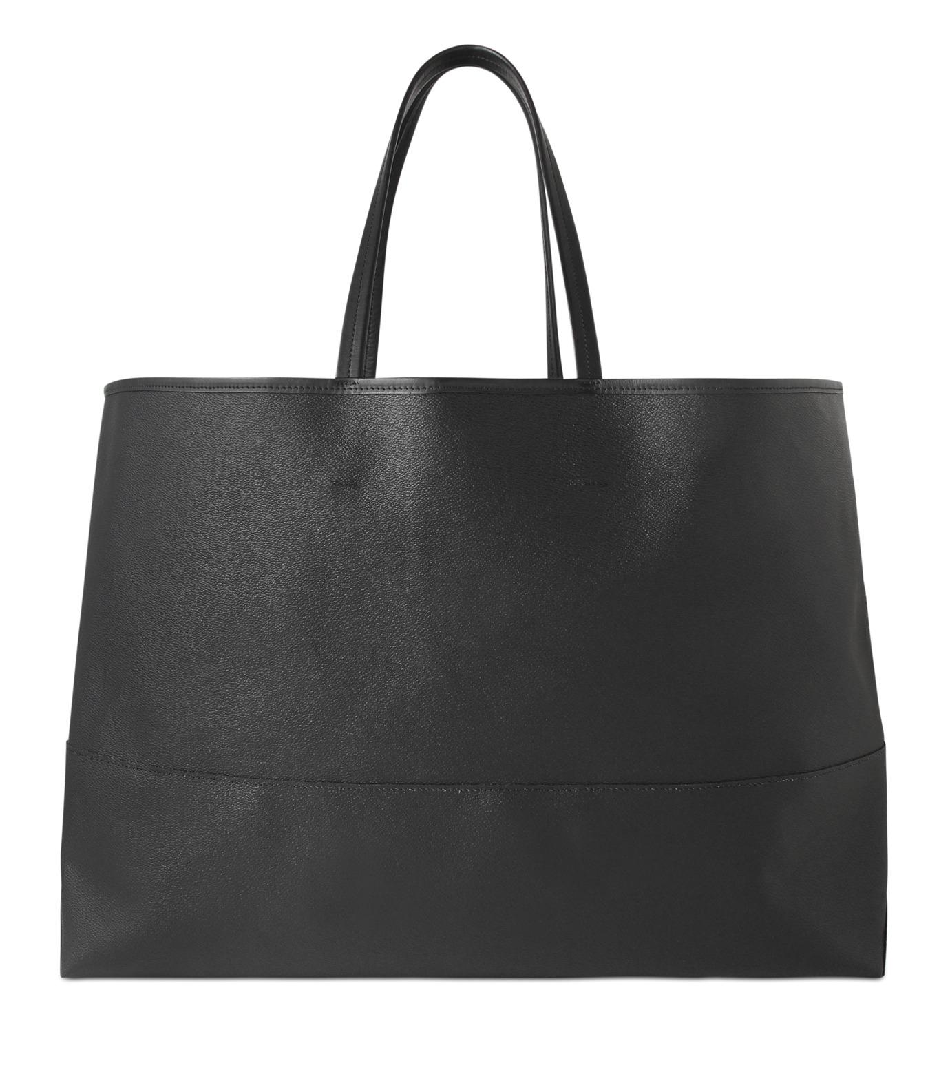 HL HEDDIE LOVU(エイチエル・エディールーヴ)のBIG TOTE BAG-BLACK(バッグ/bag)-17A90004-13 拡大詳細画像1