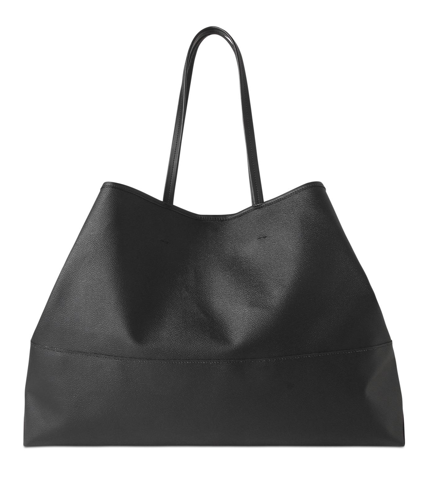HL HEDDIE LOVU(エイチエル・エディールーヴ)のBIG TOTE BAG-BLACK(バッグ/bag)-17A90004-13 拡大詳細画像3