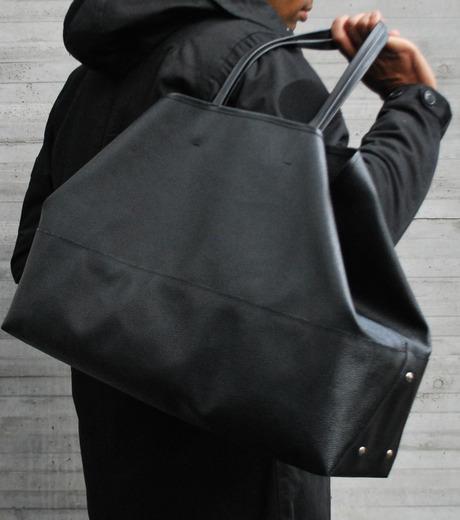 HL HEDDIE LOVU(エイチエル・エディールーヴ)のBIG TOTE BAG-BLACK(バッグ/bag)-17A90004-13 詳細画像4