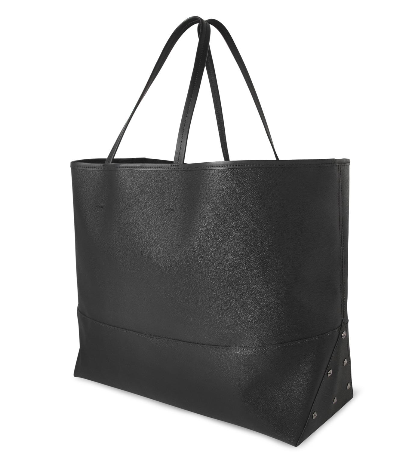 HL HEDDIE LOVU(エイチエル・エディールーヴ)のBIG TOTE BAG-BLACK(バッグ/bag)-17A90004-13 拡大詳細画像5