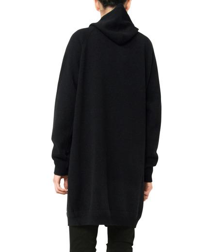 HL HEDDIE LOVU(エイチエル・エディールーヴ)のLONG KNIT PARKA-BLACK(ニット/knit)-17A91001-13 詳細画像6