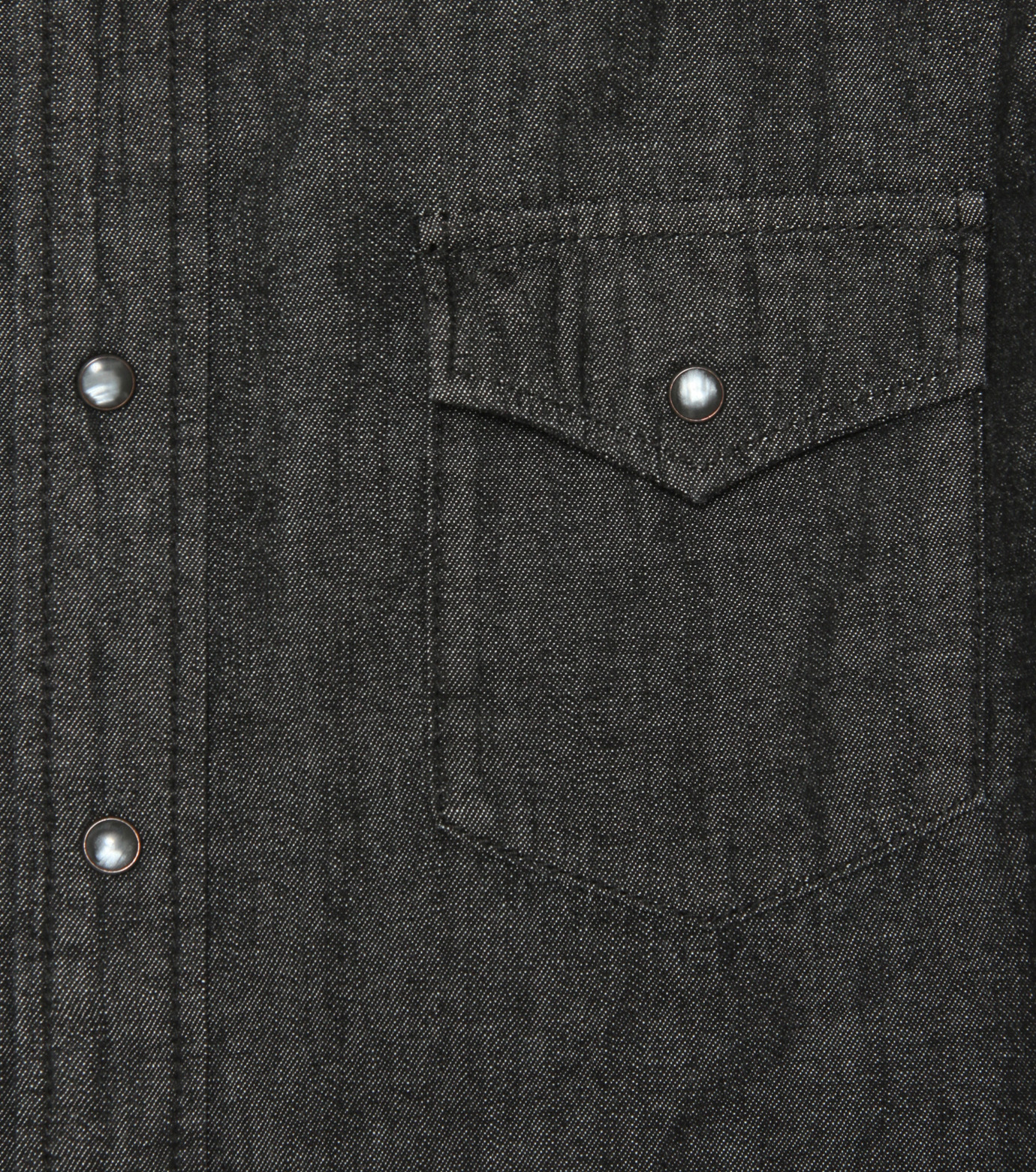 HL HEDDIE LOVU(エイチエル・エディールーヴ)のHL DENIM SHIRT-BLACK(シャツ/shirt)-17A93003-13 拡大詳細画像3