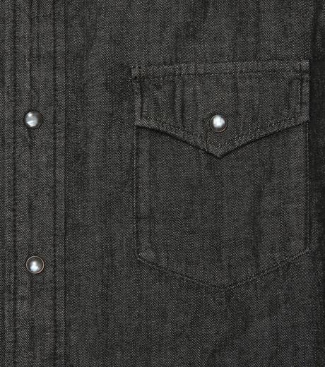 HL HEDDIE LOVU(エイチエル・エディールーヴ)のHL DENIM SHIRT-BLACK(シャツ/shirt)-17A93003-13 詳細画像3