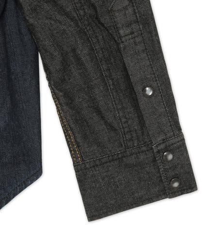 HL HEDDIE LOVU(エイチエル・エディールーヴ)のHL DENIM SHIRT-BLACK(シャツ/shirt)-17A93003-13 詳細画像4