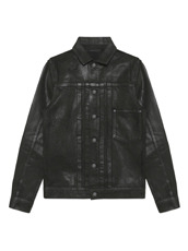 HL HEDDIE LOVU COATING BLACK DENIM JACKET
