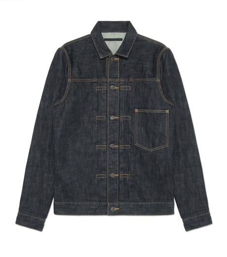HL HEDDIE LOVU(エイチエル・エディールーヴ)のINDIGO DENIM JACKET-INDIGO(ジャケット/jacket)-17A94002-94 詳細画像1