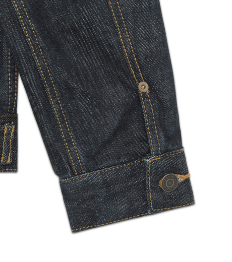 HL HEDDIE LOVU(エイチエル・エディールーヴ)のINDIGO DENIM JACKET-INDIGO(ジャケット/jacket)-17A94002-94 詳細画像4