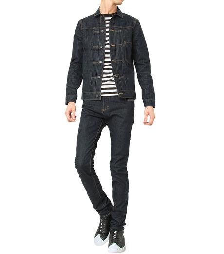 HL HEDDIE LOVU(エイチエル・エディールーヴ)のINDIGO DENIM JACKET-INDIGO(ジャケット/jacket)-17A94002-94 詳細画像8