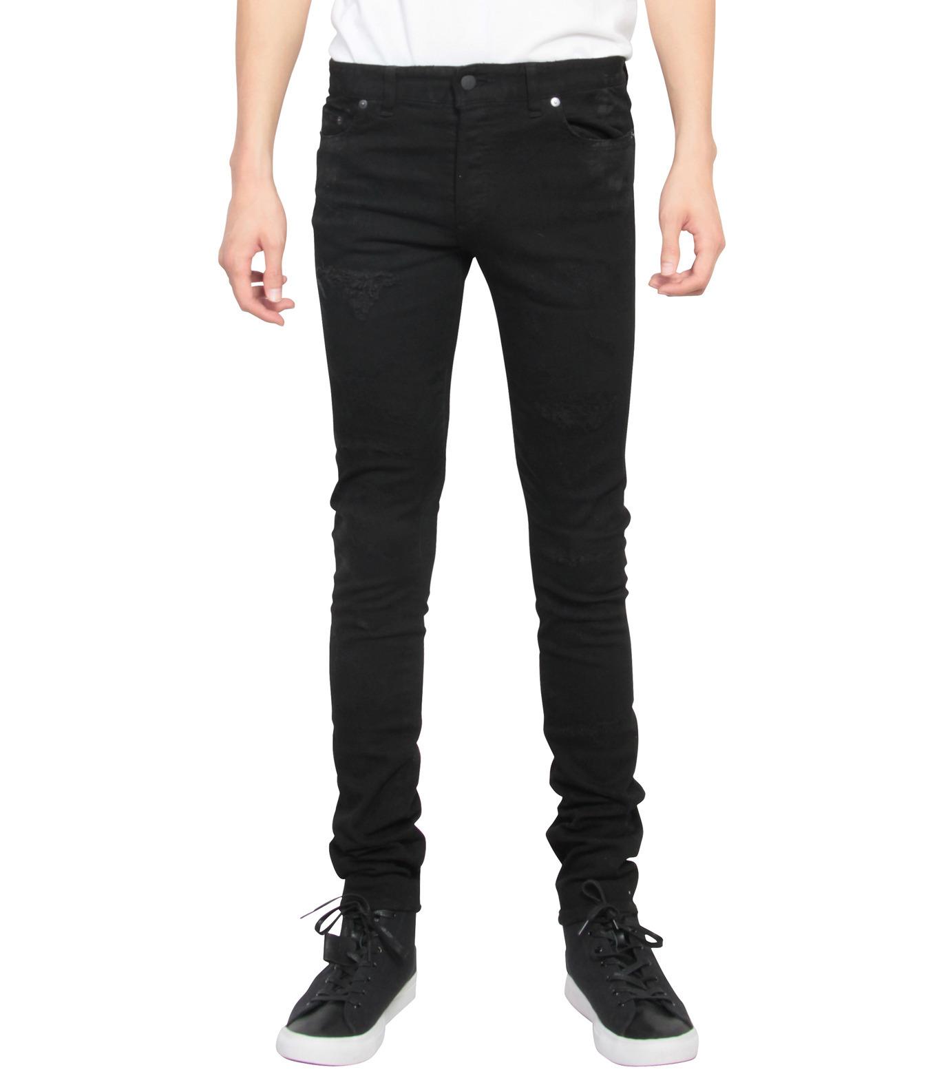 HL HEDDIE LOVU(エイチエル・エディールーヴ)のBlack Damege HL-BLACK(パンツ/pants)-17A98002-13 拡大詳細画像1