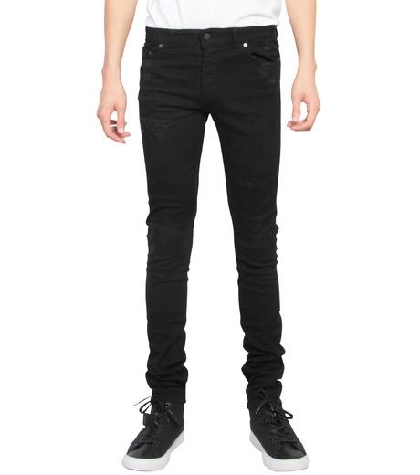 HL HEDDIE LOVU(エイチエル・エディールーヴ)のBlack Damege HL-BLACK(パンツ/pants)-17A98002-13 詳細画像1