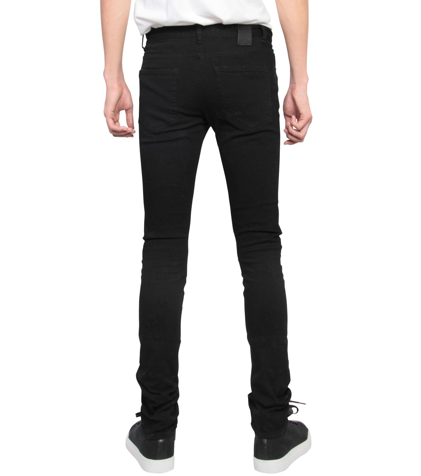 HL HEDDIE LOVU(エイチエル・エディールーヴ)のBlack Damege HL-BLACK(パンツ/pants)-17A98002-13 拡大詳細画像2