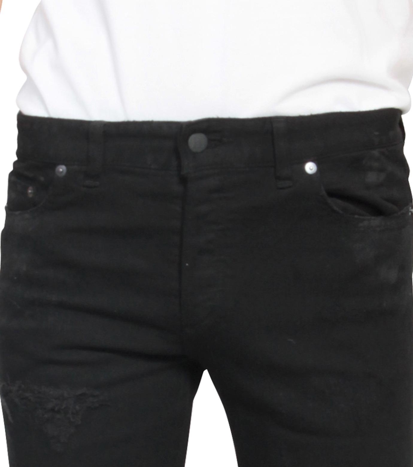 HL HEDDIE LOVU(エイチエル・エディールーヴ)のBlack Damege HL-BLACK(パンツ/pants)-17A98002-13 拡大詳細画像4
