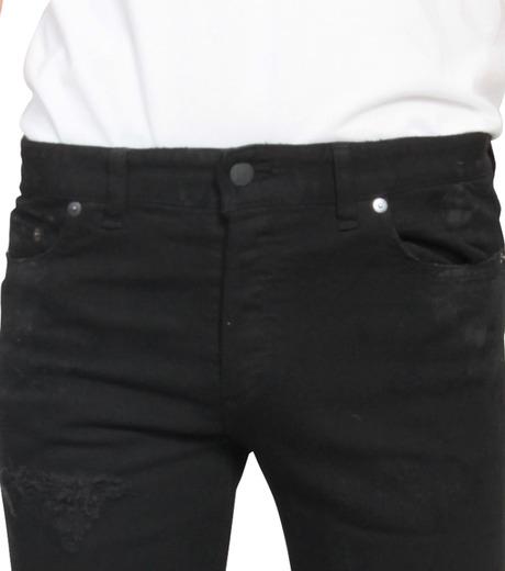 HL HEDDIE LOVU(エイチエル・エディールーヴ)のBlack Damege HL-BLACK(パンツ/pants)-17A98002-13 詳細画像4