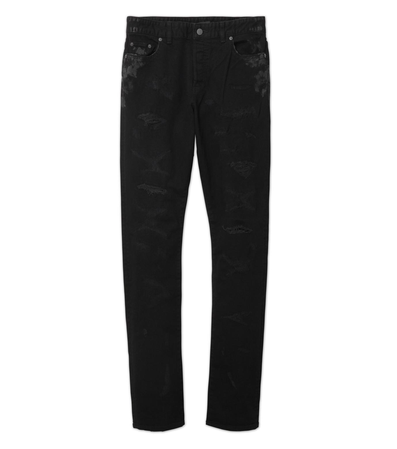 HL HEDDIE LOVU(エイチエル・エディールーヴ)のBlack Damege HL-BLACK(パンツ/pants)-17A98002-13 拡大詳細画像6