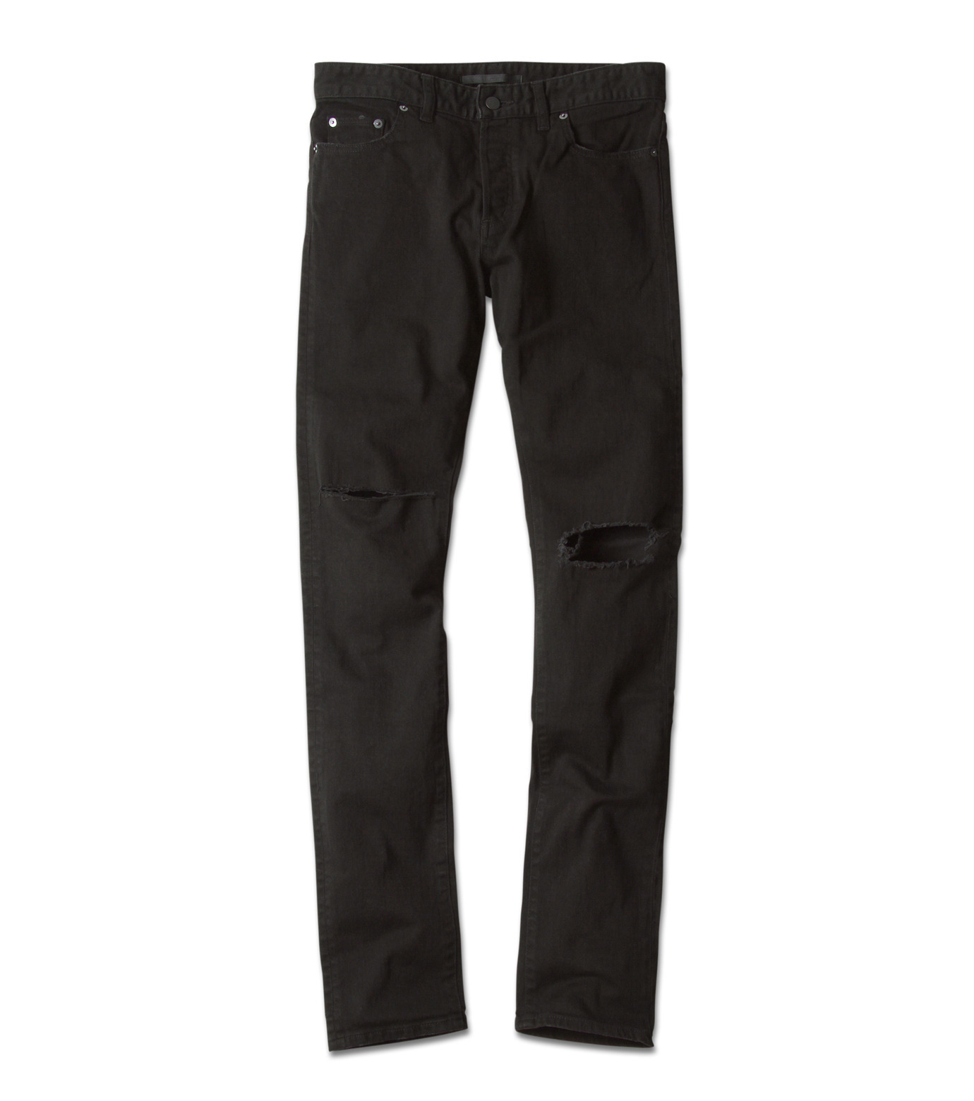 HL HEDDIE LOVU(エイチエル・エディールーヴ)のBlack Damage2 Sk-BLACK(パンツ/pants)-17A98004-13 拡大詳細画像4