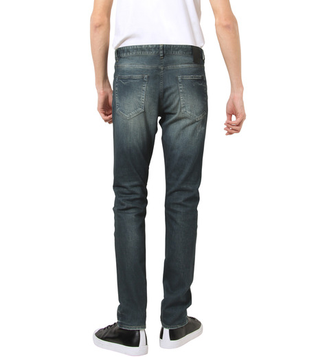 HL HEDDIE LOVU(エイチエル・エディールーヴ)のIND Dark Damage-INDIGO(パンツ/pants)-17A98006-94 詳細画像2