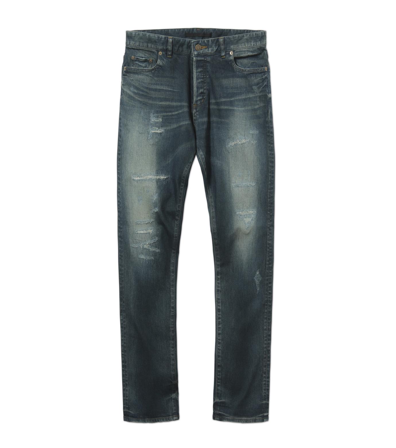 HL HEDDIE LOVU(エイチエル・エディールーヴ)のIND Dark Damage-INDIGO(パンツ/pants)-17A98006-94 拡大詳細画像4