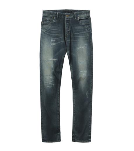HL HEDDIE LOVU(エイチエル・エディールーヴ)のIND Dark Damage-INDIGO(パンツ/pants)-17A98006-94 詳細画像4