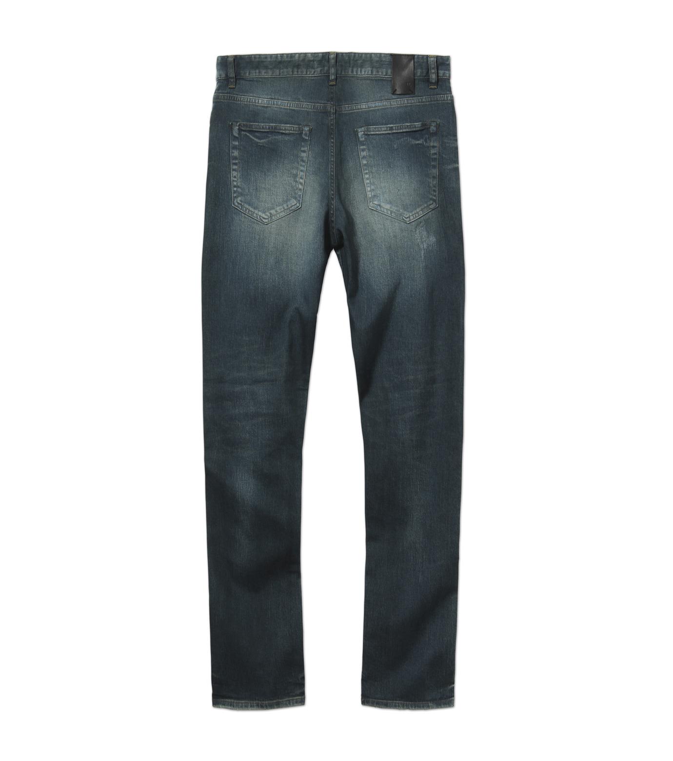 HL HEDDIE LOVU(エイチエル・エディールーヴ)のIND Dark Damage-INDIGO(パンツ/pants)-17A98006-94 拡大詳細画像5