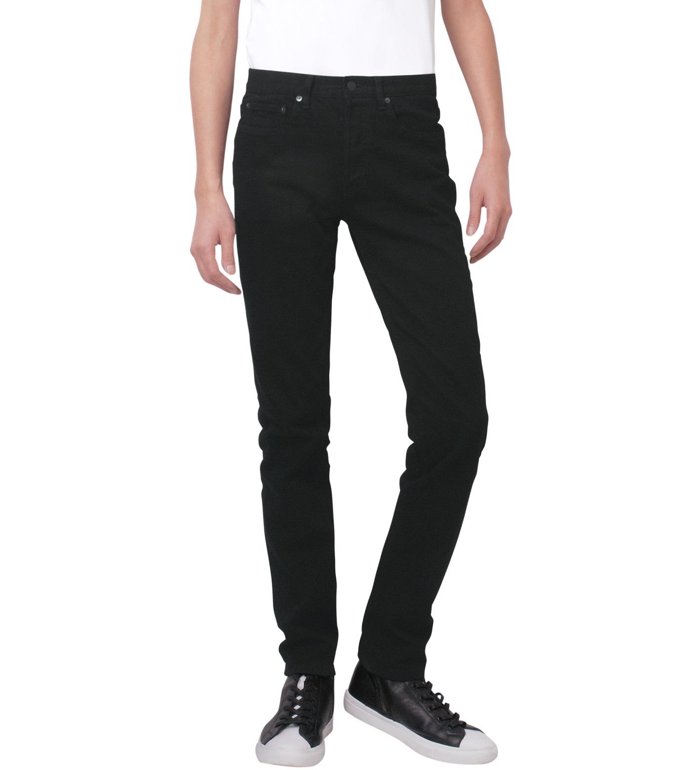 HL HEDDIE LOVU(エイチエル・エディールーヴ)のBLACK DENIM SLIM-BLACK(パンツ/pants)-17A98007-13 拡大詳細画像1