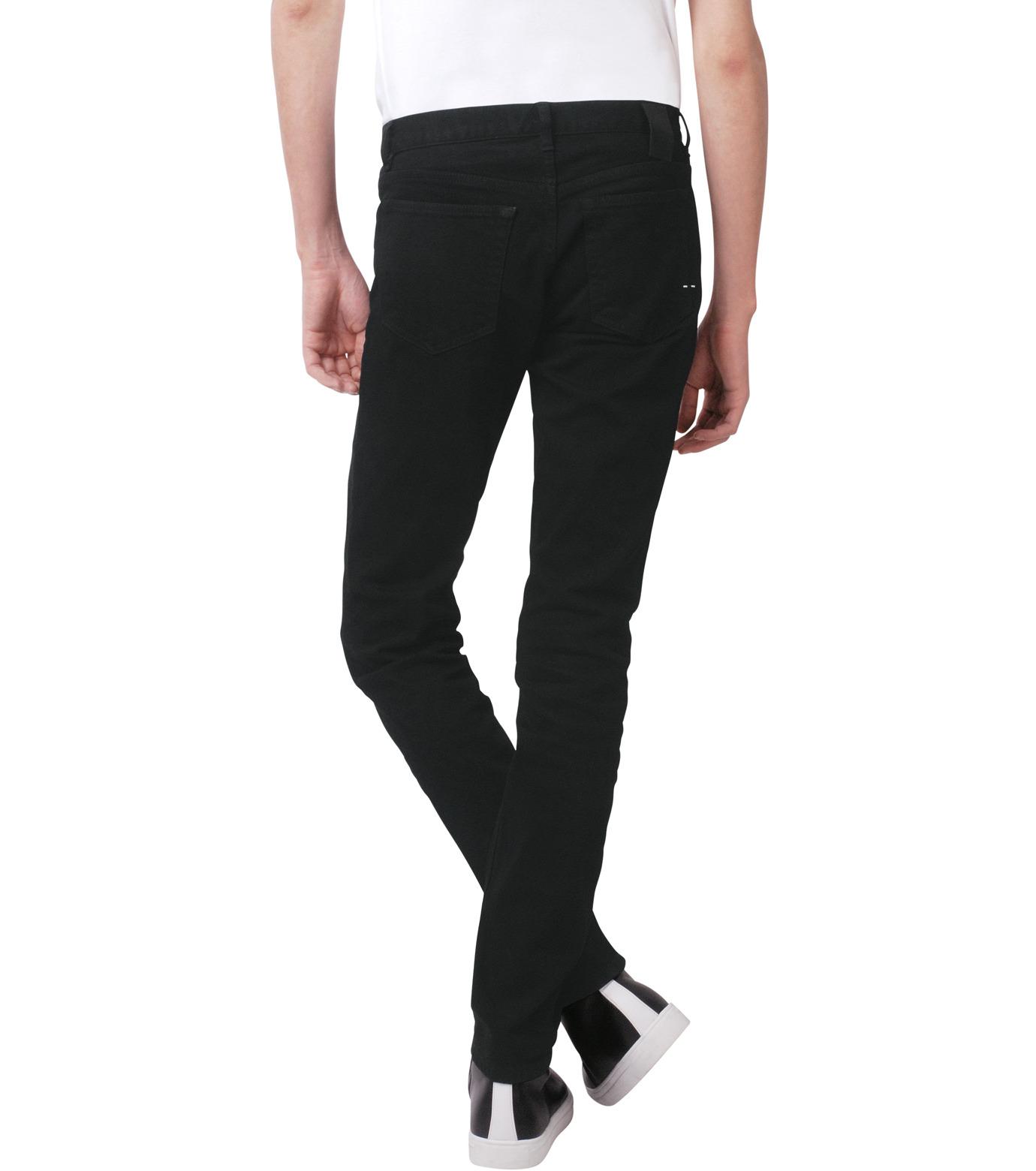 HL HEDDIE LOVU(エイチエル・エディールーヴ)のBLACK DENIM SLIM-BLACK(パンツ/pants)-17A98007-13 拡大詳細画像2