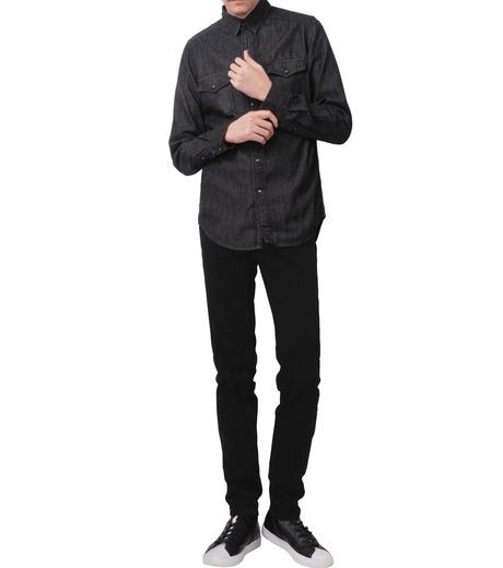 HL HEDDIE LOVU(エイチエル・エディールーヴ)のBLACK DENIM SLIM-BLACK(パンツ/pants)-17A98007-13 詳細画像3