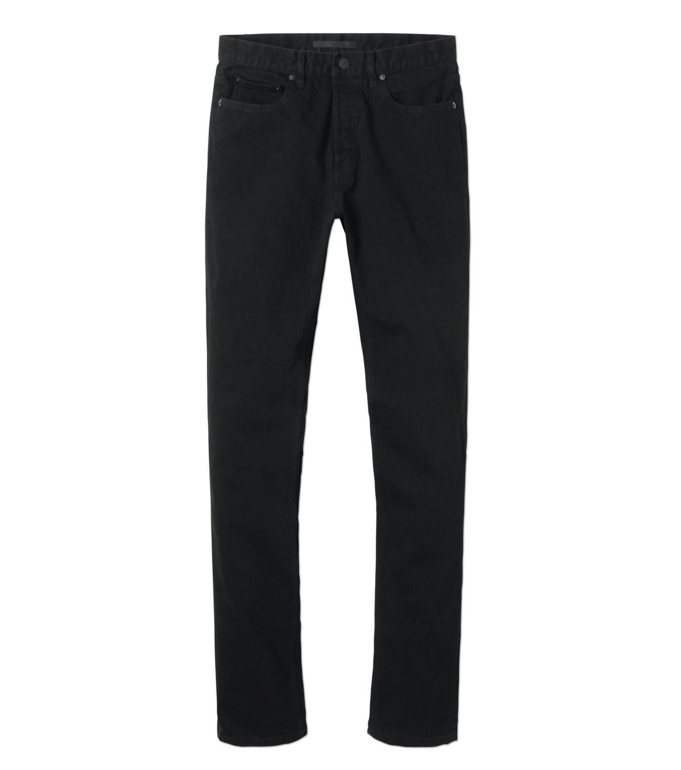 HL HEDDIE LOVU(エイチエル・エディールーヴ)のBLACK DENIM SLIM-BLACK(パンツ/pants)-17A98007-13 拡大詳細画像4
