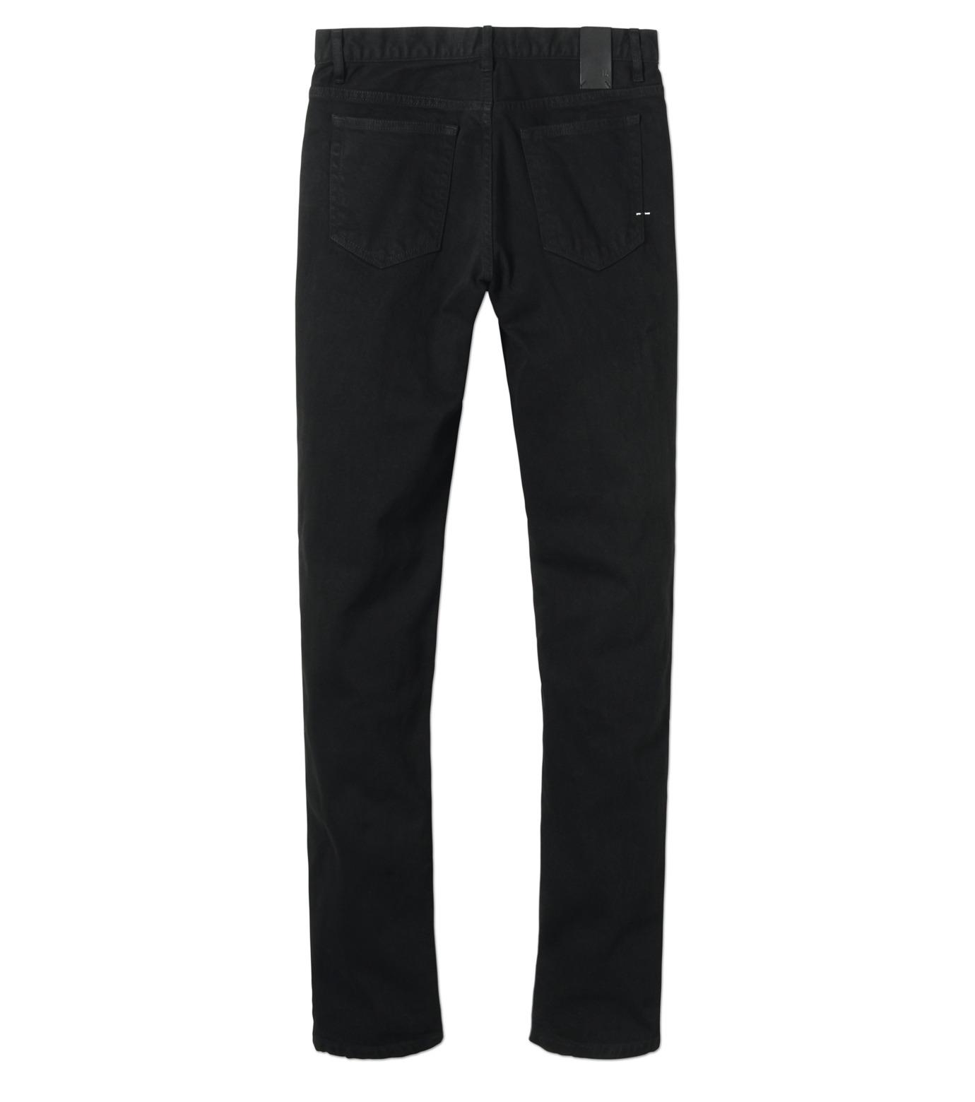 HL HEDDIE LOVU(エイチエル・エディールーヴ)のBLACK DENIM SLIM-BLACK(パンツ/pants)-17A98007-13 拡大詳細画像5