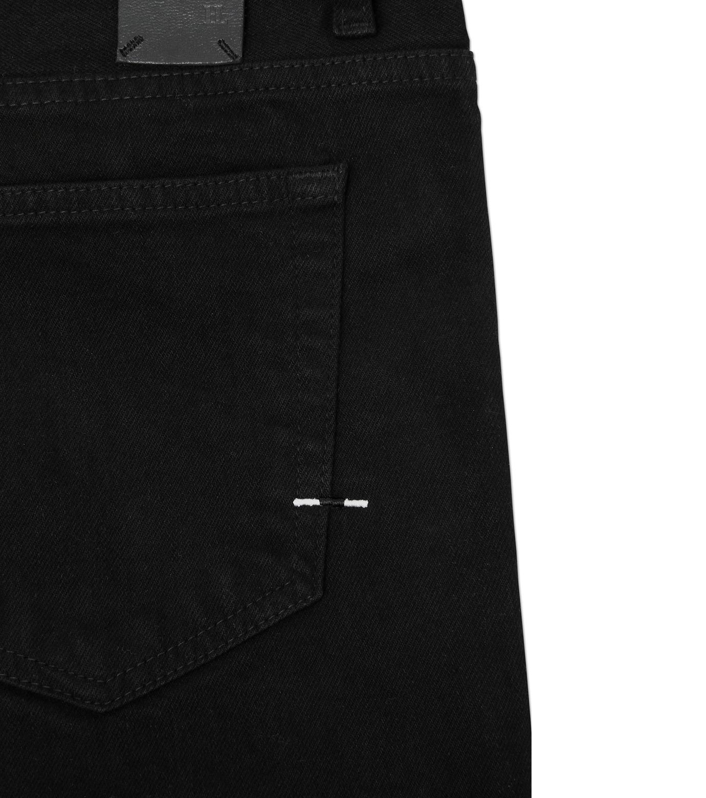 HL HEDDIE LOVU(エイチエル・エディールーヴ)のBLACK DENIM SLIM-BLACK(パンツ/pants)-17A98007-13 拡大詳細画像6