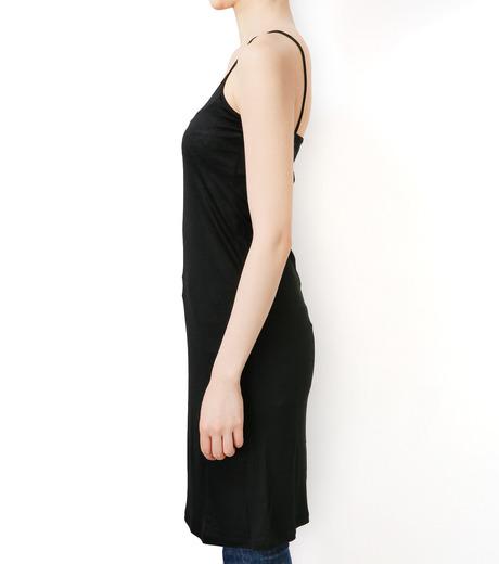 LE CIEL BLEU(ルシェルブルー)のインナーキャミワンピース-BLACK(ワンピース/one piece)-17S65053 詳細画像2