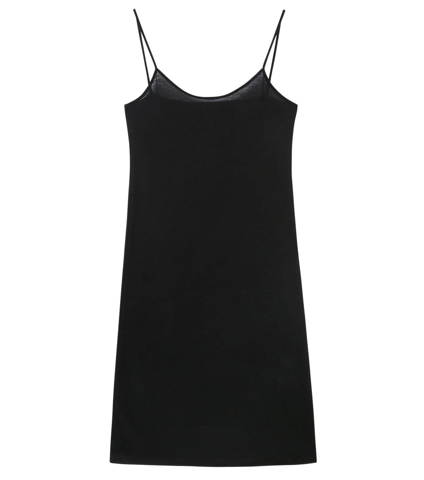 LE CIEL BLEU(ルシェルブルー)のインナーキャミワンピース-BLACK(ワンピース/one piece)-17S65053 拡大詳細画像4