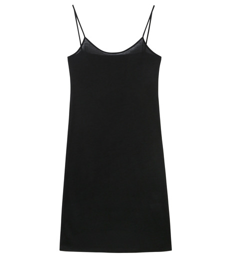 LE CIEL BLEU(ルシェルブルー)のインナーキャミワンピース-BLACK(ワンピース/one piece)-17S65053 詳細画像4
