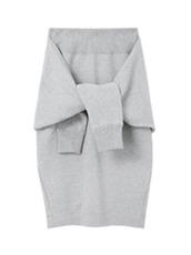 LE CIEL BLEU ノットデザインスウェットスカート