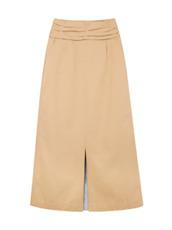 LE CIEL BLEU カットボンディングAラインスカート