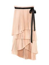 LE CIEL BLEU ミルフィーユプリーツスカート