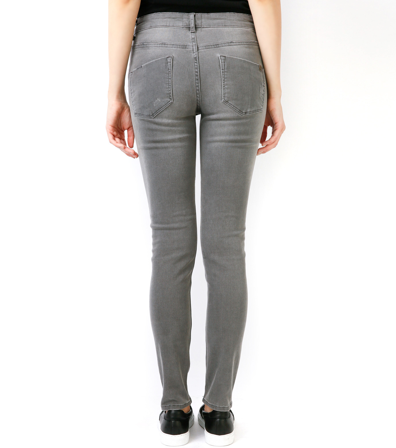 LE CIEL BLEU(ルシェルブルー)のグレ-スキニ- by Essentials-GRAY(パンツ/pants)-17S68008 拡大詳細画像5