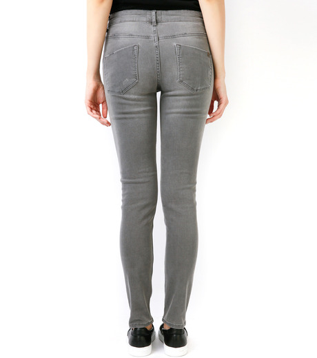 LE CIEL BLEU(ルシェルブルー)のグレ-スキニ- by Essentials-GRAY(パンツ/pants)-17S68008 詳細画像5