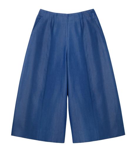 LE CIEL BLEU(ルシェルブルー)のデニムバミューダーパンツ-BLUE(パンツ/pants)-17S68027 詳細画像1