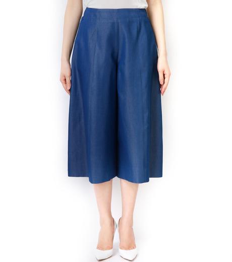 LE CIEL BLEU(ルシェルブルー)のデニムバミューダーパンツ-BLUE(パンツ/pants)-17S68027 詳細画像3