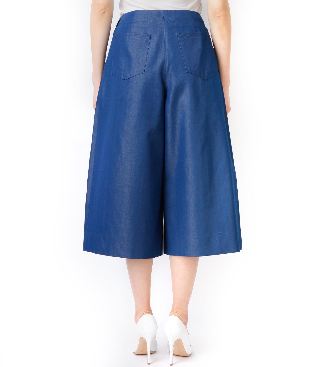 LE CIEL BLEU(ルシェルブルー)のデニムバミューダーパンツ-BLUE(パンツ/pants)-17S68027 拡大詳細画像5