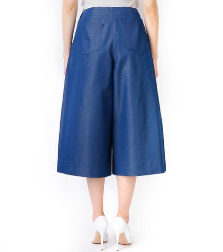 LE CIEL BLEU(ルシェルブルー)のデニムバミューダーパンツ-BLUE(パンツ/pants)-17S68027 詳細画像5