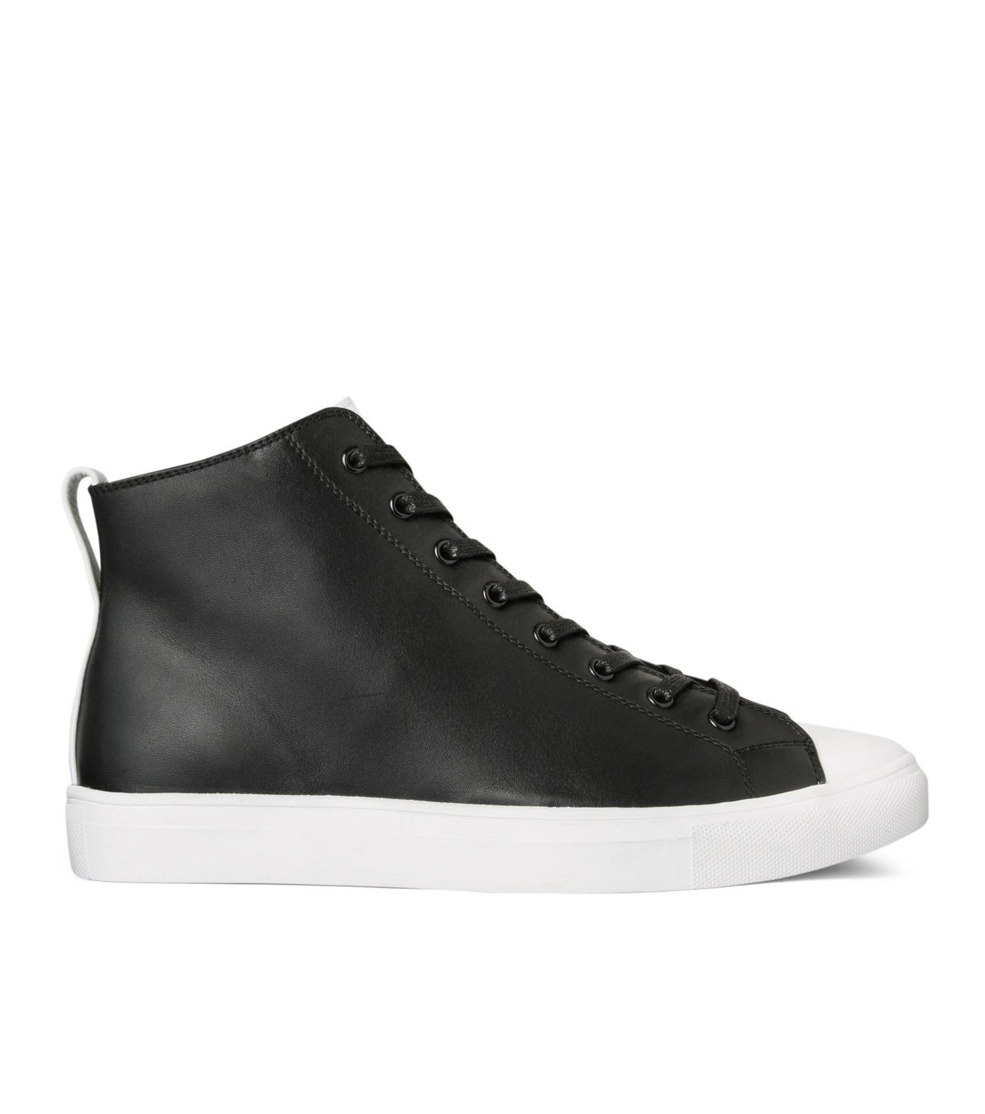 HL HEDDIE LOVU(エイチエル・エディールーヴ)のHL Zip Sneaker-BLACK(スニーカー/sneaker)-17S90001-13 拡大詳細画像1