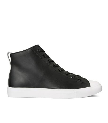 HL HEDDIE LOVU(エイチエル・エディールーヴ)のHL Zip Sneaker-BLACK(スニーカー/sneaker)-17S90001-13 詳細画像1