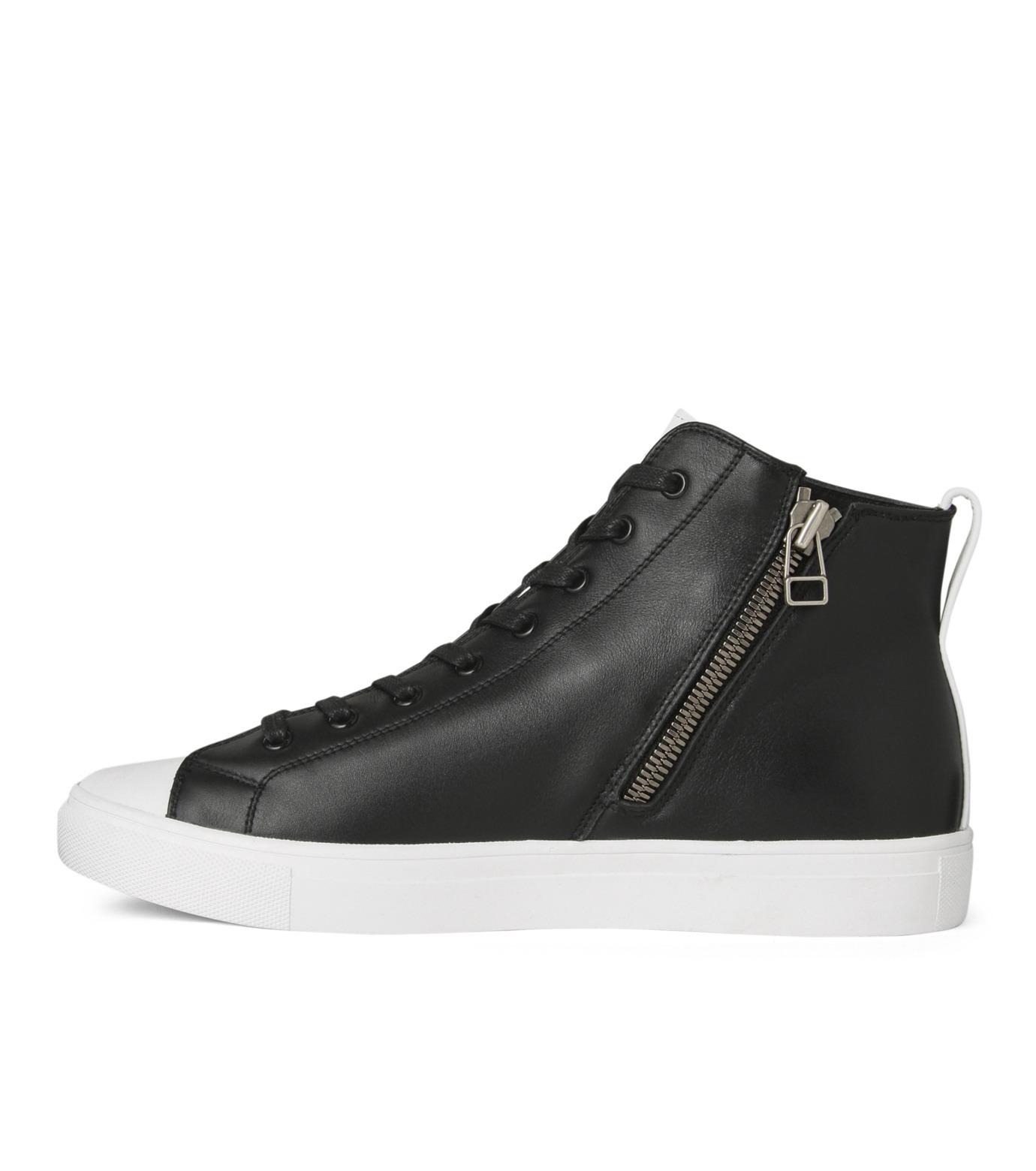 HL HEDDIE LOVU(エイチエル・エディールーヴ)のHL Zip Sneaker-BLACK(スニーカー/sneaker)-17S90001-13 拡大詳細画像2