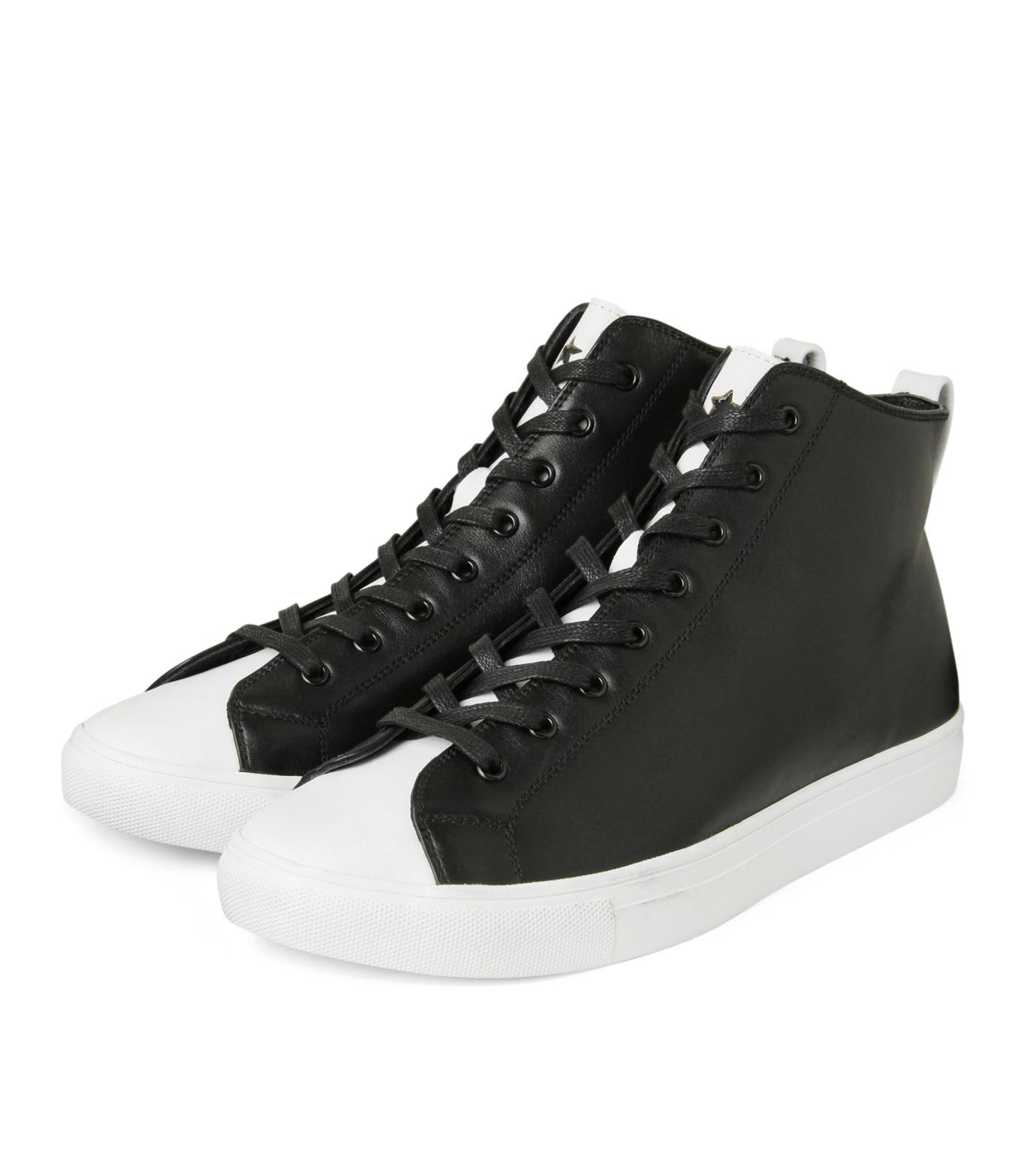 HL HEDDIE LOVU(エイチエル・エディールーヴ)のHL Zip Sneaker-BLACK(スニーカー/sneaker)-17S90001-13 拡大詳細画像4