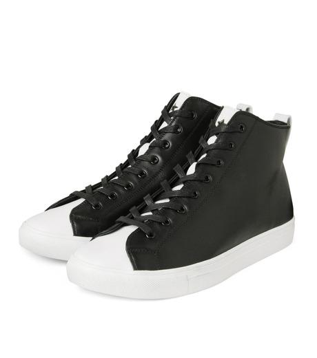 HL HEDDIE LOVU(エイチエル・エディールーヴ)のHL Zip Sneaker-BLACK(スニーカー/sneaker)-17S90001-13 詳細画像4