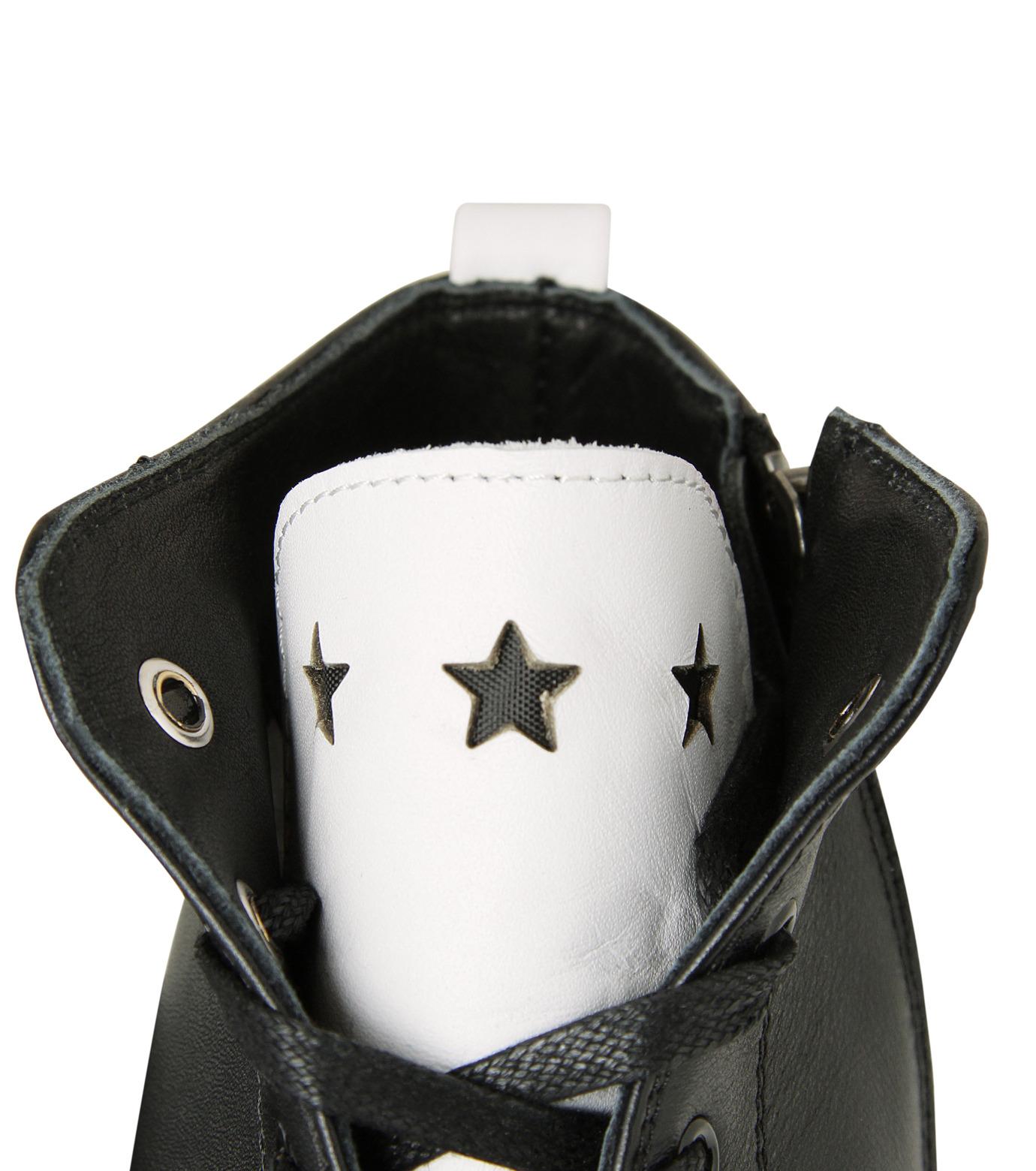 HL HEDDIE LOVU(エイチエル・エディールーヴ)のHL Zip Sneaker-BLACK(スニーカー/sneaker)-17S90001-13 拡大詳細画像5
