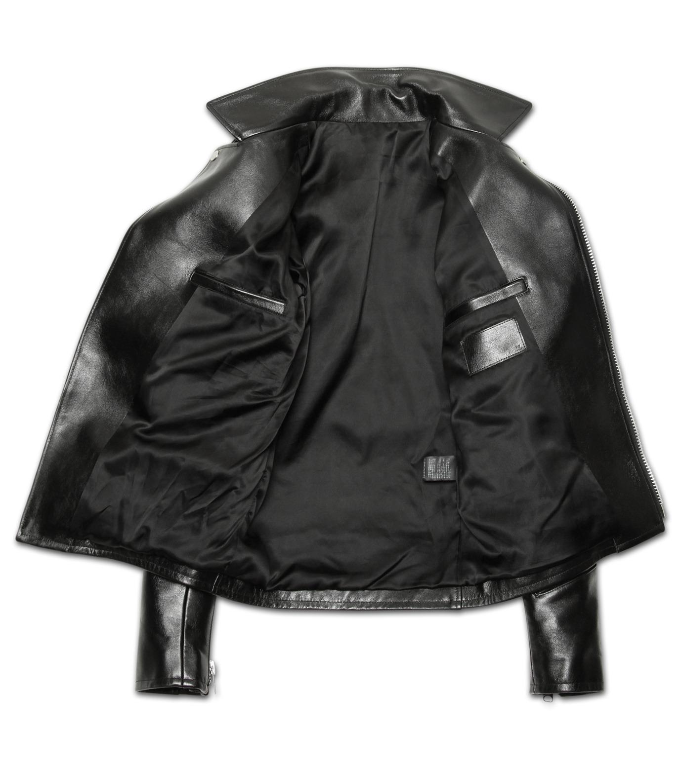 HL HEDDIE LOVU(エイチエル・エディールーヴ)のHL Riders W JK-BLACK(ジャケット/jacket)-17S94001-13 拡大詳細画像3