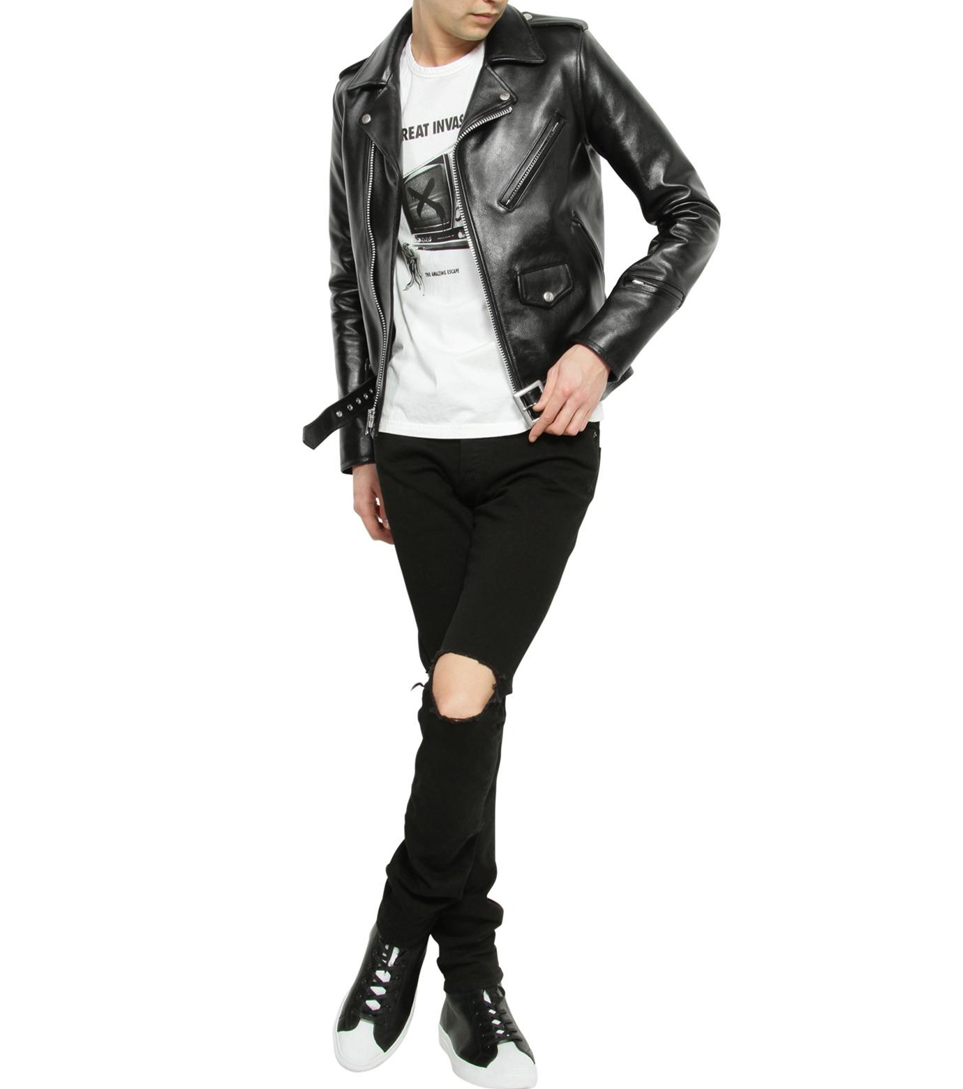 HL HEDDIE LOVU(エイチエル・エディールーヴ)のHL Riders W JK-BLACK(ジャケット/jacket)-17S94001-13 拡大詳細画像7