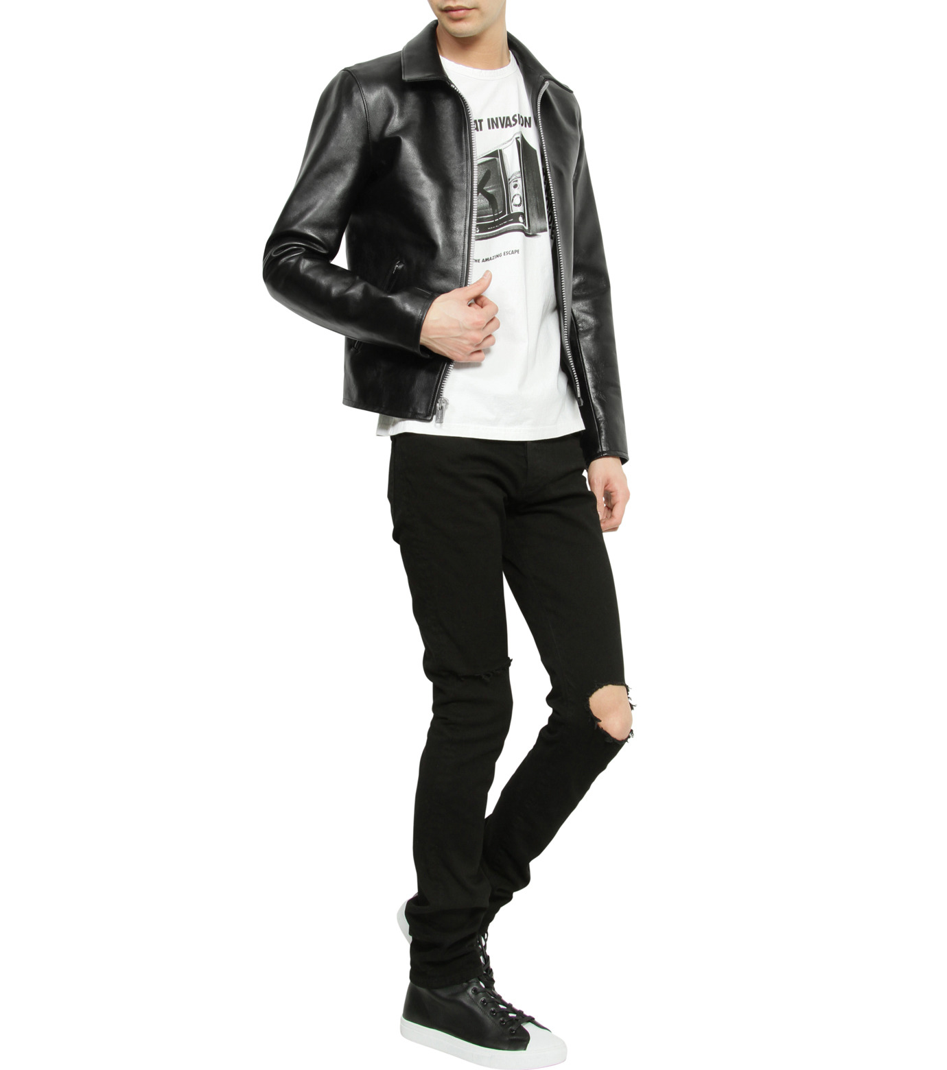 HL HEDDIE LOVU(エイチエル・エディールーヴ)のHL Riders S JK-BLACK(ジャケット/jacket)-17S94002-13 拡大詳細画像5